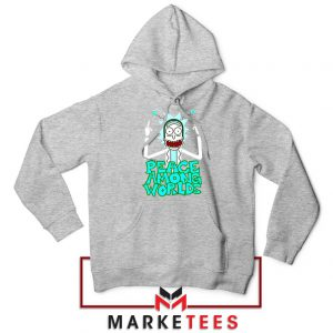 Peace Among Worlds Sport Grey Hoodie