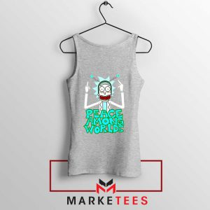 Peace Among Worlds Sport Grey Tank Top