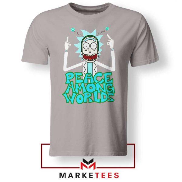 Peace Among Worlds Sport Grey Tshirt