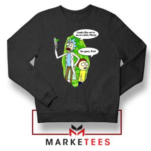 Rick And Morty Looks Like We're On A Phone Sweatshirt
