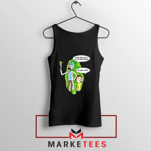 Rick And Morty Looks Like We're On A Phone Tank Top
