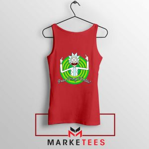 Rick And Morty Peace Among Worlds Red Tank Top