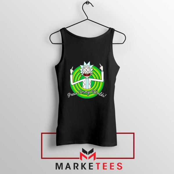 Rick And Morty Peace Among Worlds Tank Top