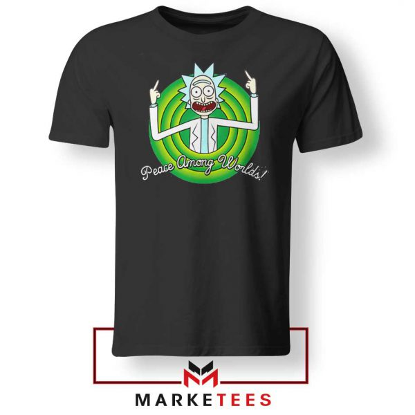 Rick And Morty Peace Among Worlds Tshirt