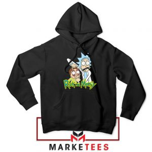 Rick and Morty Eyes Open Hoodie