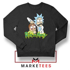 Rick and Morty Eyes Open Sweatshirt