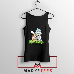 Rick and Morty Eyes Open Tank Top