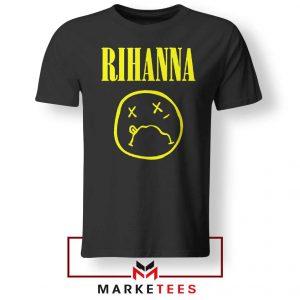 Rihanna Nirvana Tee Shirt