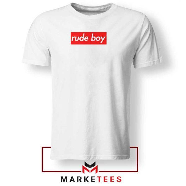 Rude Boy Music Rihanna Tee Shirt