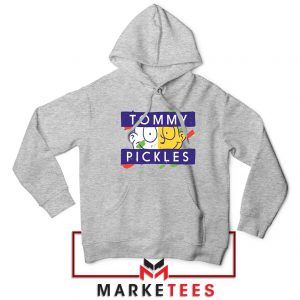 Rugrats Tommy Pickles Sport Grey Hoodie