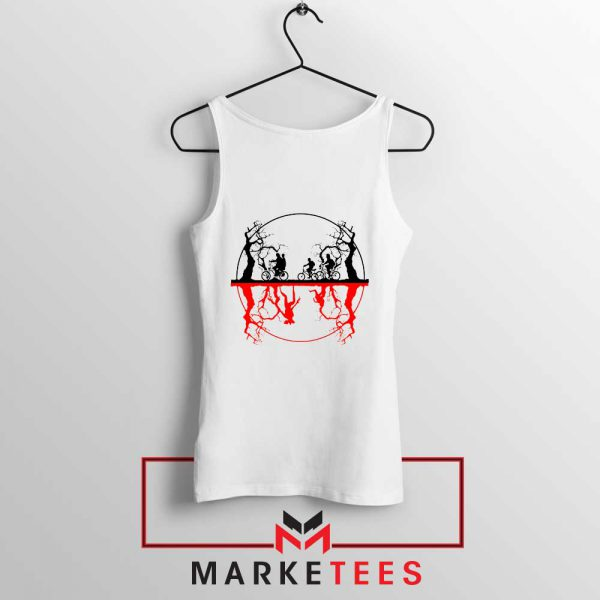 Silhouettes Upside Down Tank Top