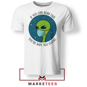 Social Distancing Alien Tshirt