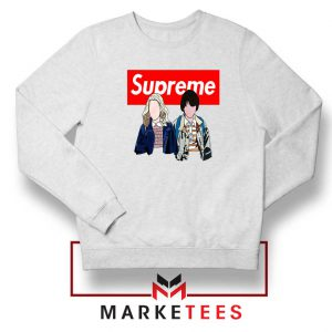 Stranger Things Eleven and Mike Sweatshirt