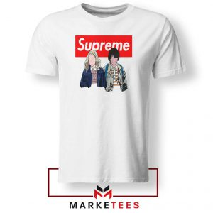 Stranger Things Eleven and Mike Tee Shirt