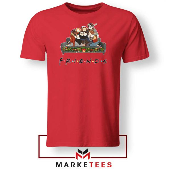 Stranger Things Friends Red Tee Shirt