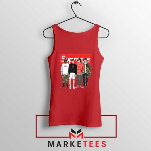 Stranger Things Funny Supreme Red Tank Top