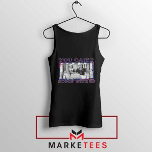 Stranger Things You Cant Scoop Black Tank Top