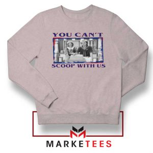 Stranger Things You Cant Scoop Sport Grey Sweatshirt