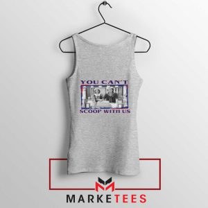 Stranger Things You Cant Scoop Sport Grey Tank Top