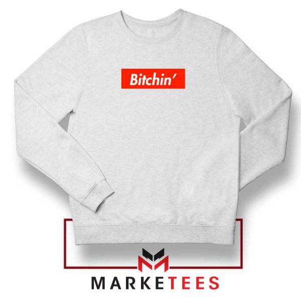 Supreme Eleven Bitchin White Sweater