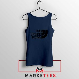 The Upside Down North Face Navy Blue Tank Top