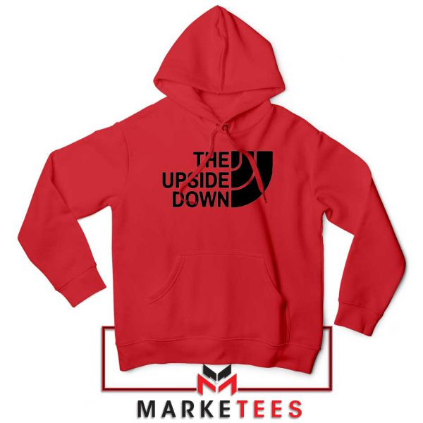 The Upside Down North Face Red Hoodie