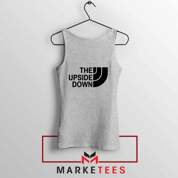 The Upside Down North Face Sport Grey Tank Top