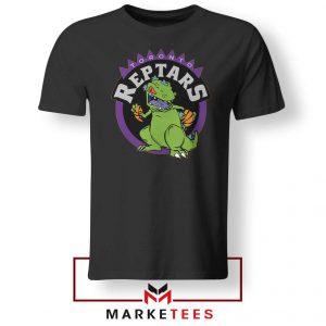 Toronto NBA Parody Reptars Black Tshirt