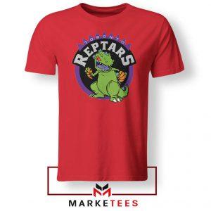 Toronto NBA Parody Reptars Red Tshirt