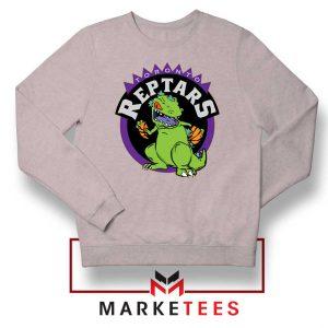 Toronto NBA Parody Reptars Sport Grey Sweatshirt