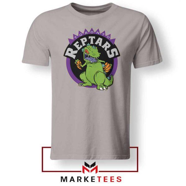 Toronto NBA Parody Reptars Sport Grey Tshirt