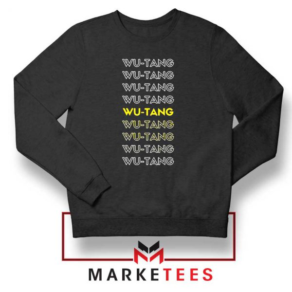 Typography Rapper Group Sweatshirt