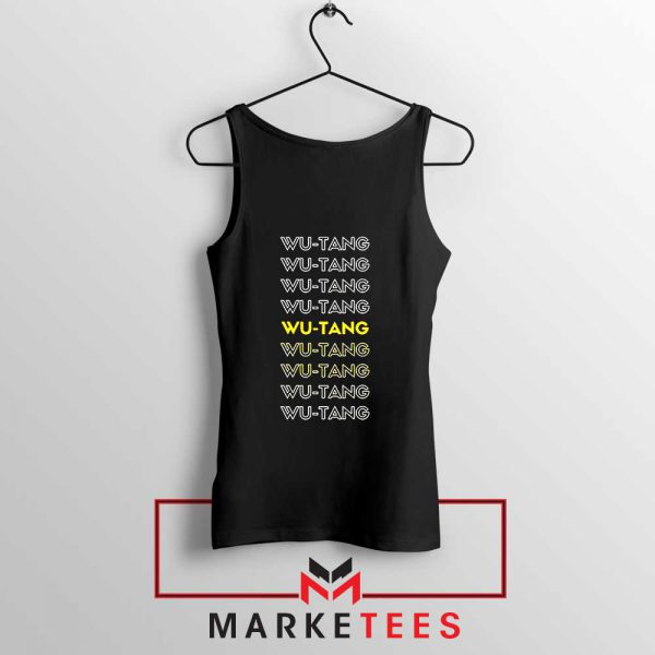 Typography Rapper Group Tank Top