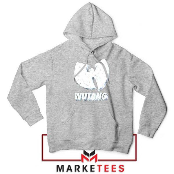 Vintage 90s Wutang Clan Logo Sport Grey Hoodie