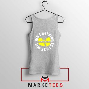 Wu Han Aint Nuthing Ta Fuck Wit Sport Grey Tank Top