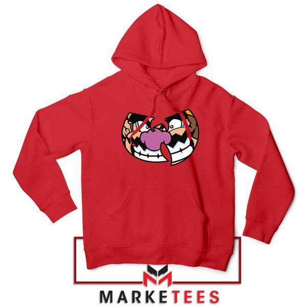 Wu Tang Clan Wario Red Hoodie