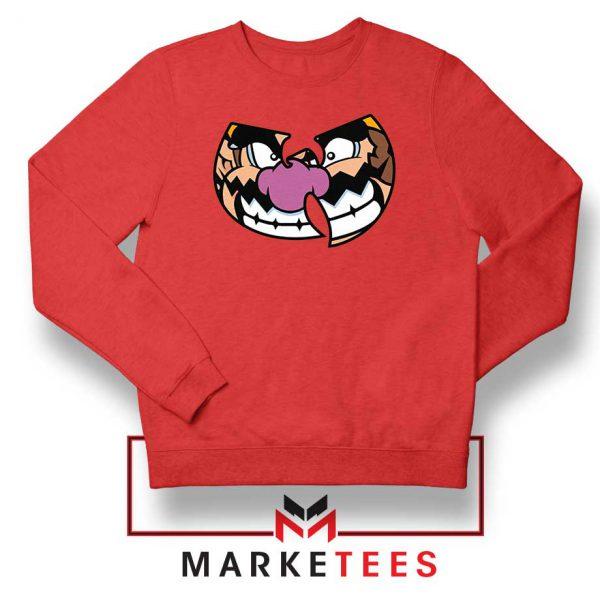 Wu Tang Clan Wario Red Sweater