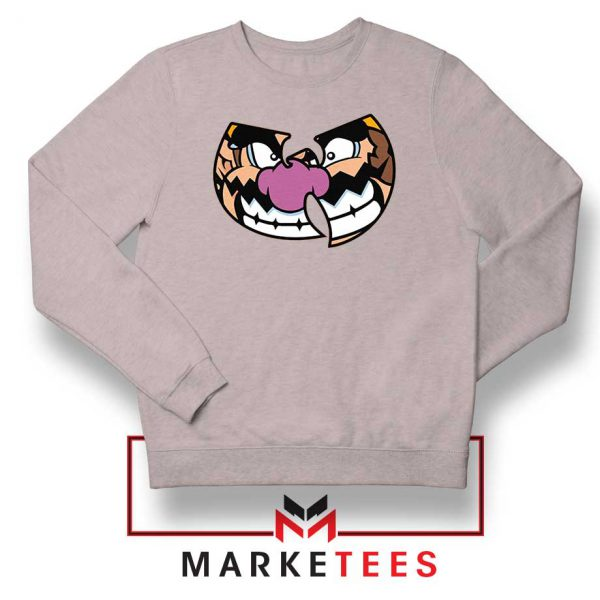 Wu Tang Clan Wario Sport Grey Sweater