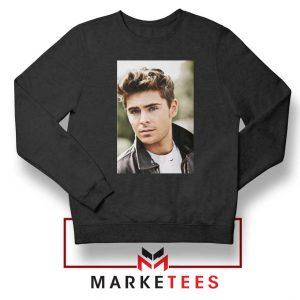 Zac Efron Posters Black Sweatshirt