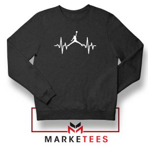 Basketball Heartbeat Dunk Sweatshirt