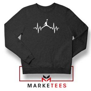Basketball Heartbeat Dunk Sweatshirt