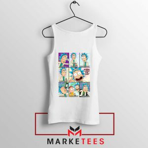 Best Rick Drunk White Tank Top