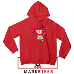 Cat Animal Red Hoodie