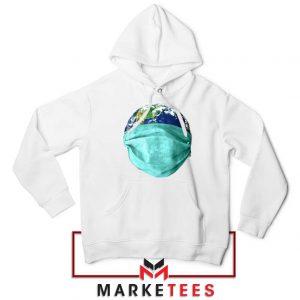 Earth Mask Coronavirus Hoodie