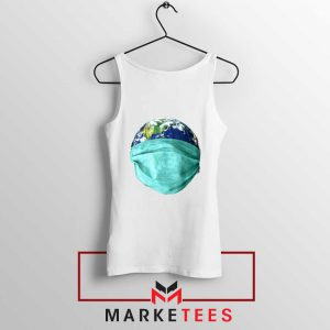 Earth Mask Coronavirus Tank Top
