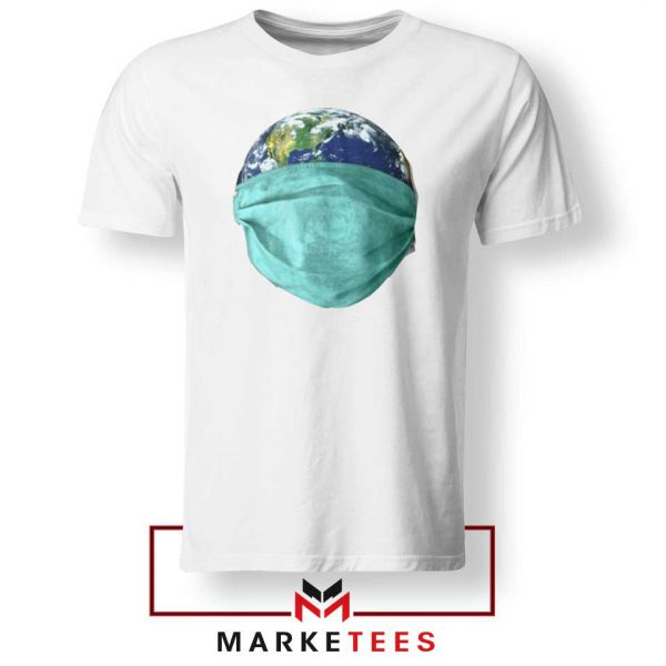 Earth Mask Coronavirus Tshirt