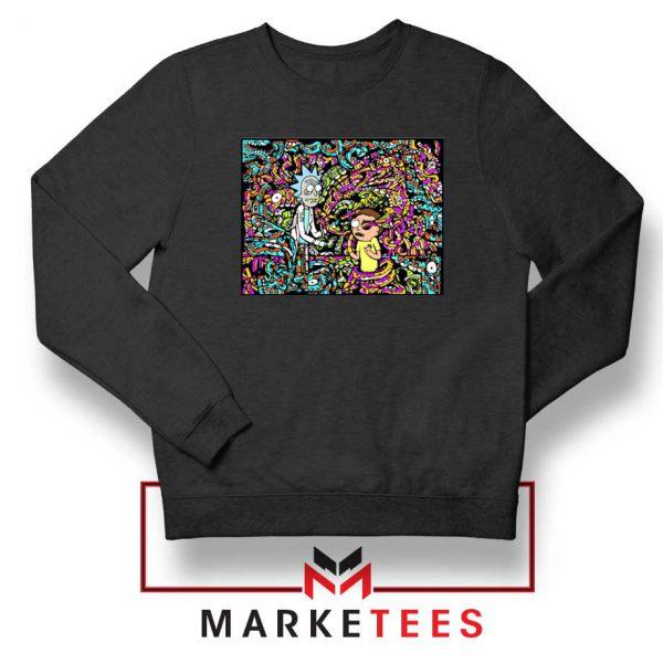 Get Schwifty Black Sweatshirt