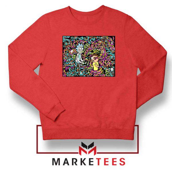 Get Schwifty Red Sweatshirt