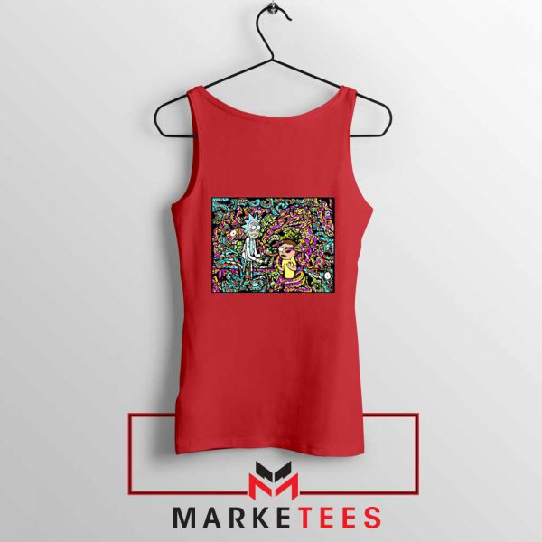 Get Schwifty Red Tank Top
