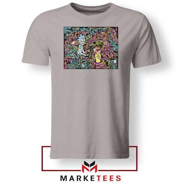 Get Schwifty Sport Grey Tshirt